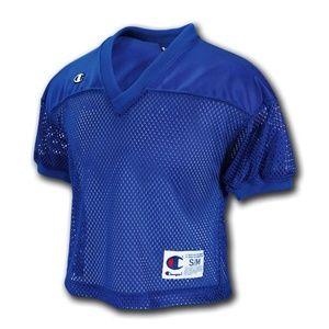Champion | Blue Net Football Jersey size XL